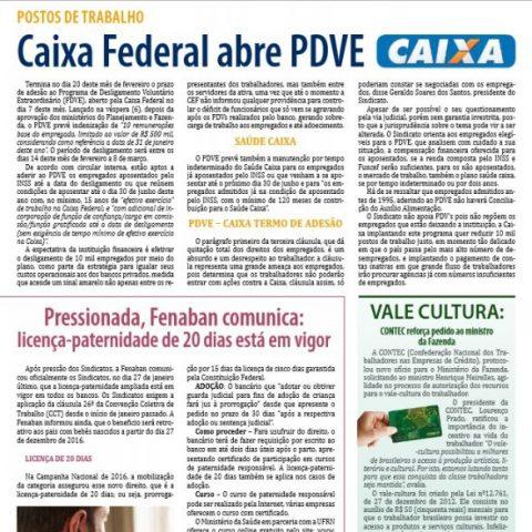 Jornal Cheque Mate Janeiro-Fevereiro 2017