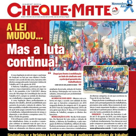 Jornal Cheque Mate Novembro 2017