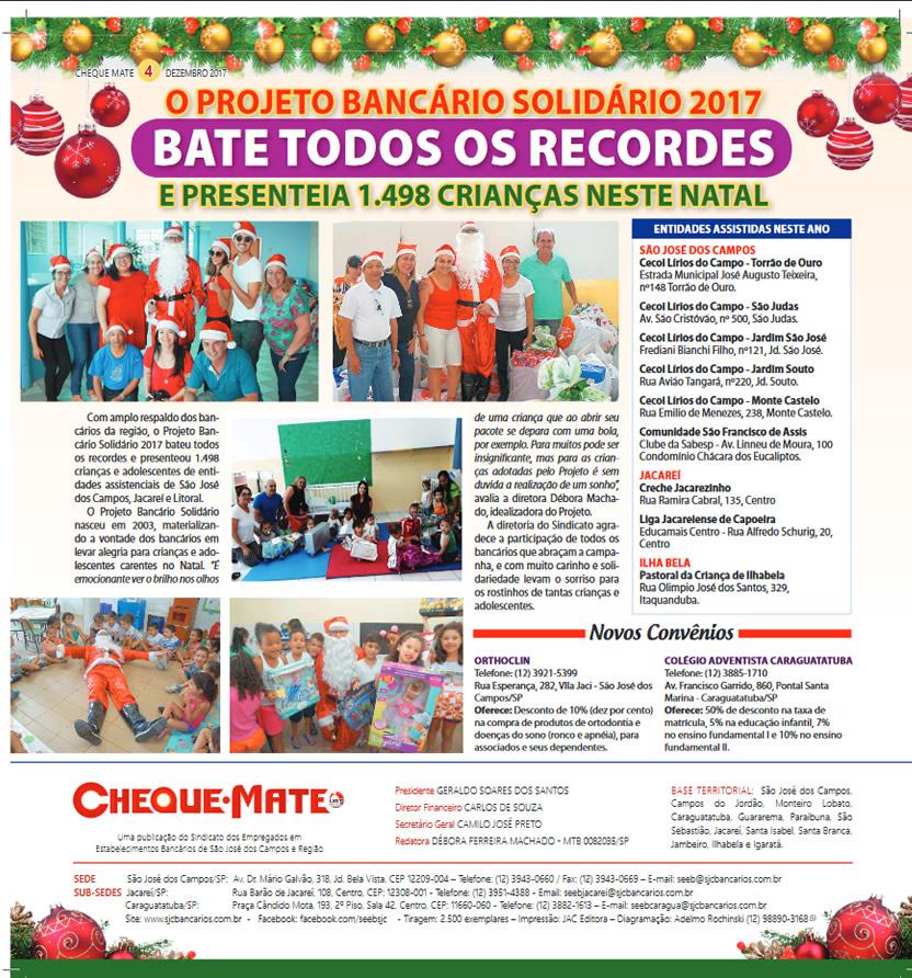 Jornal Cheque Mate Dezembro 2017