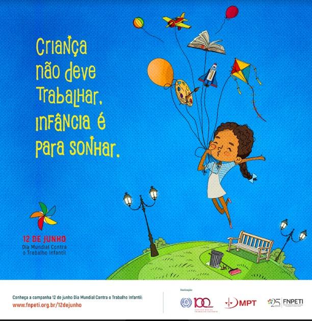 Campanha contra o Trabalho Infantil inicia nesta quarta (22/05)
