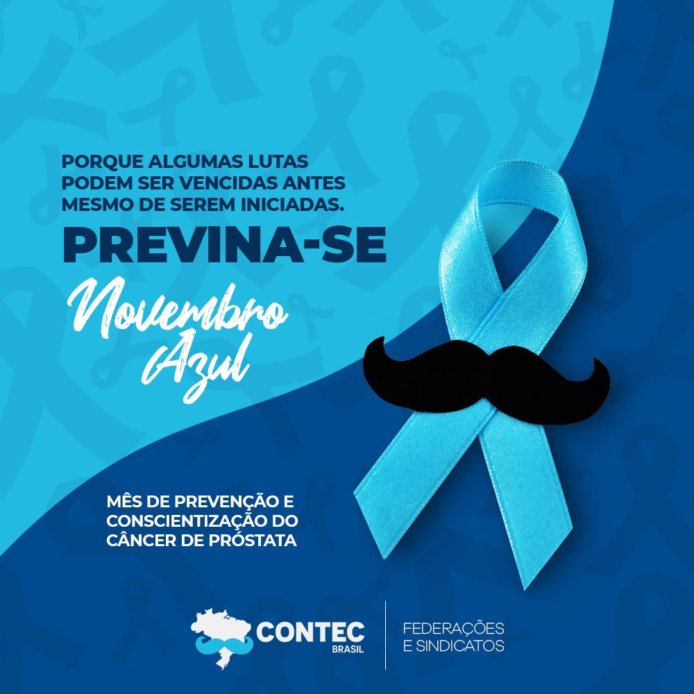 Novembro Azul: Cuide-se! Faça exames preventivos de próstata